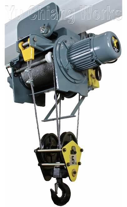 Electric Wire Rope Hoist - single girder