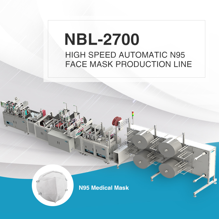 NBL-2700 High Speed N95 Mask Production Line
