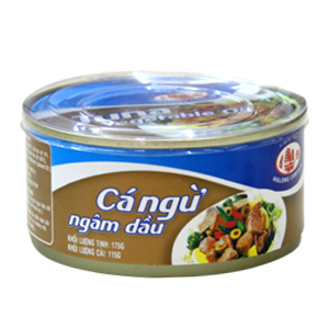 Pickled Tuna in Vegetable Oil