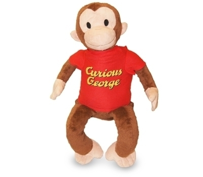 All New & Authentic Zoobies Curios George