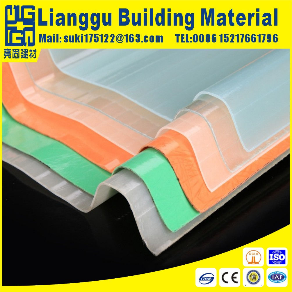 Chinese roofing material manufactuer frp fiberglass daylight roofing sheet roofing tile