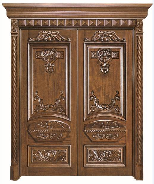 Hand Carved Doule Entrance Door