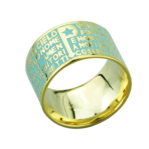 2015 Manli the newest style Round-shaped Bible Rings