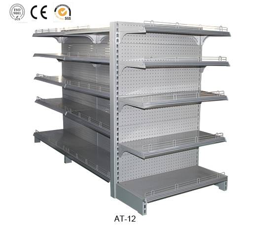 Supermarket display racking,cheap price,high quality,AT-12