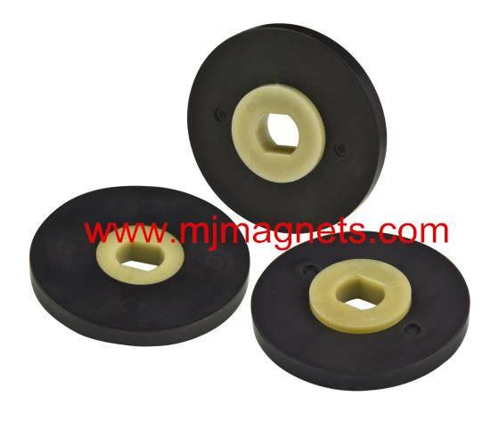 plastic injection bonded sensor magnet for automotive