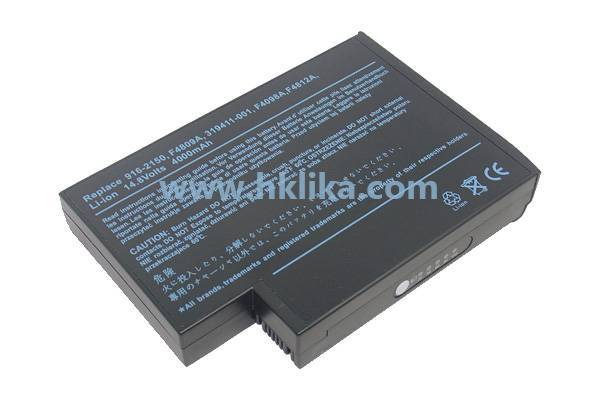 Replacement  Compatible Brand  Laptop Battery for HP 396601-001
