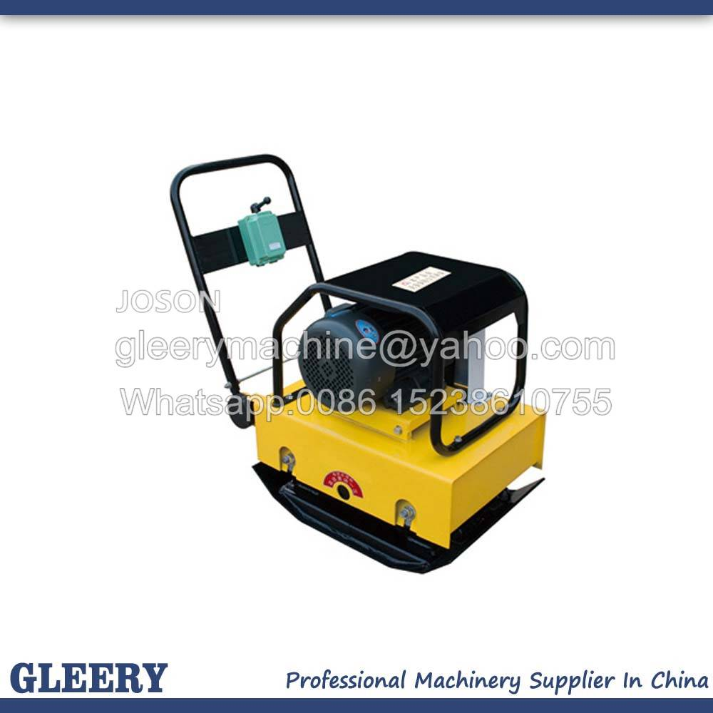 HZD200 3kw or 4kw Electric Plate Compactor