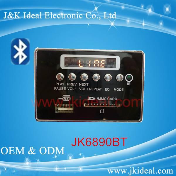 Bluetooth usb sd card fm radio mp3 amplifier board