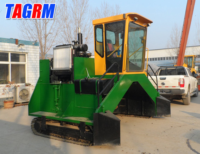 M3200II city waste processing solid waste compost turning machine
