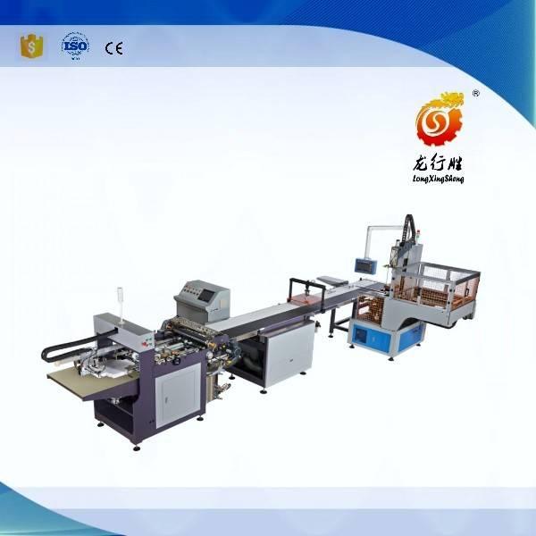 LS-430A rigid box making line