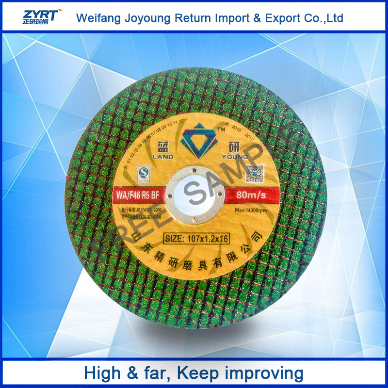 cutting wheel T41 Thin cutting disc for stainless steel