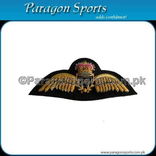 Bullion Handmade Embroidered Military Wing
