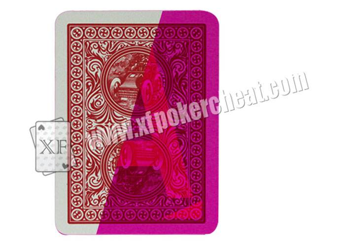 Poker Cheat Plastic Invisible Playing Cards Modiano Ramino Golden Trophy
