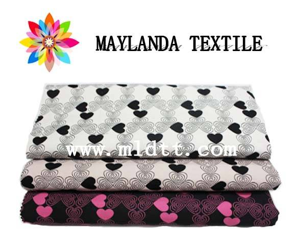Maylanda Textile 2015 Factory for Garments, New Style Heart-Shaped Dyeing Jacquard Fabrics 8290