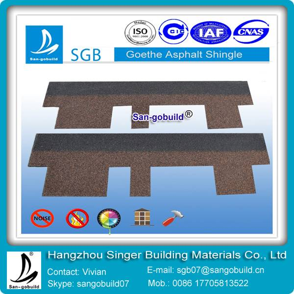 gothic asphalt shingles for building roofing material from china