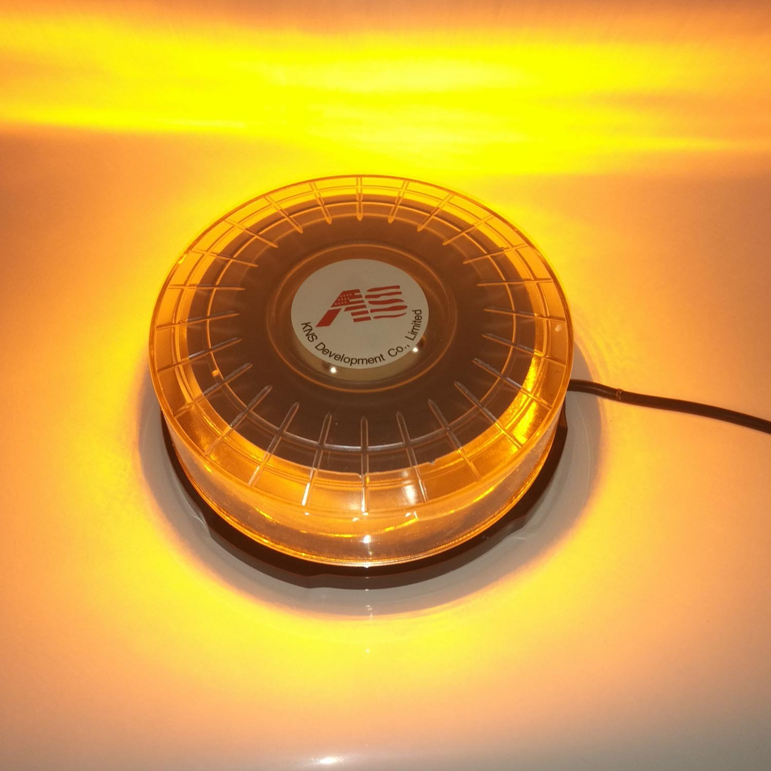 Super-bright 3 Watt Light Bead Round Led Car Ceiling Lamp12 Modes 72W