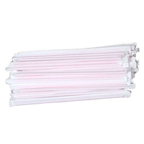 Individual wrapped straws