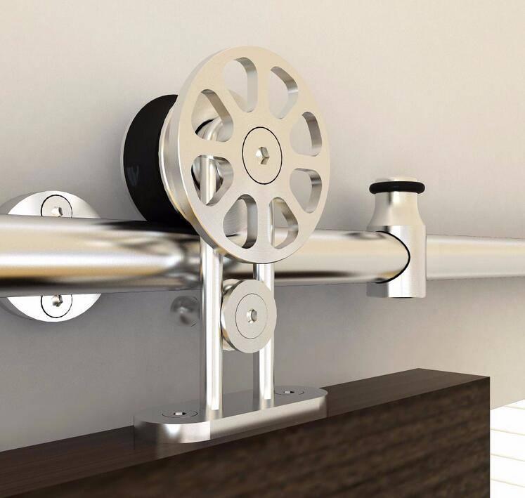 High precision stainless steel hanger wheel for wooden sliding door