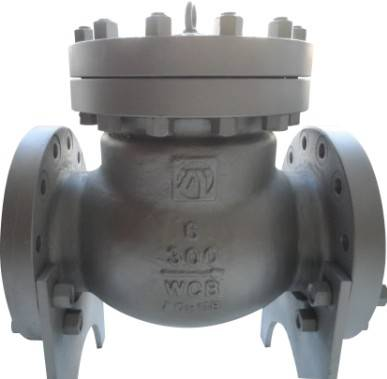 API Class300 6''carbon Steel Swing Check Valve (WCB)