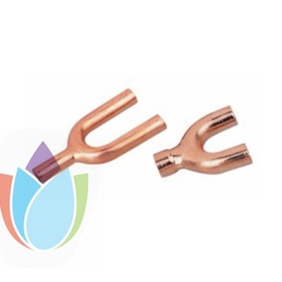 Air conditioner Copper Fitting Y tee
