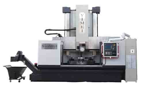 CNC high speed vertical lathe