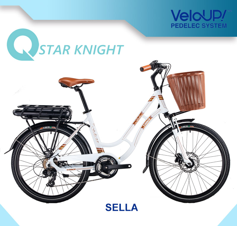 Classical Model Best Seller Europe Style Cheap Woman Electric Bicycle with Veloup Smart Drive System