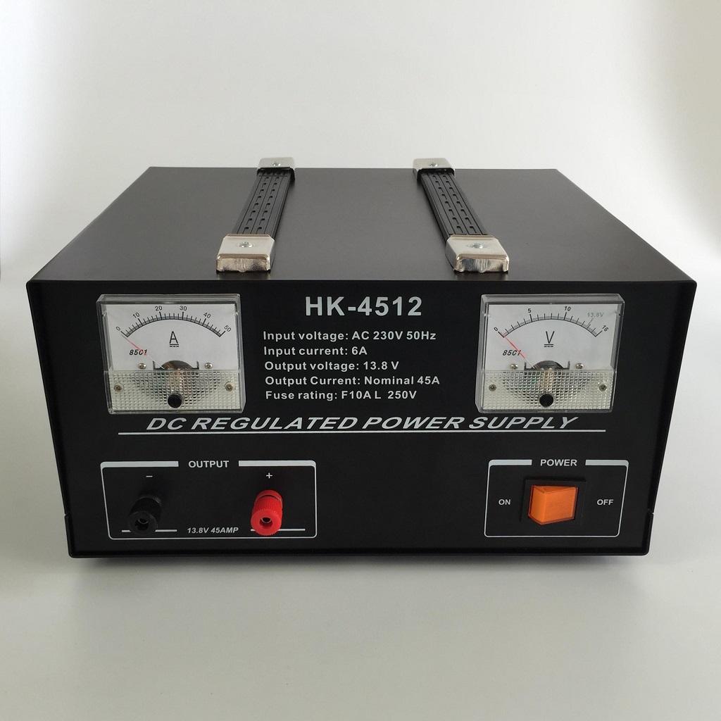 HOKOG HK-4512 45AMP 13.8VDC Linear power supply