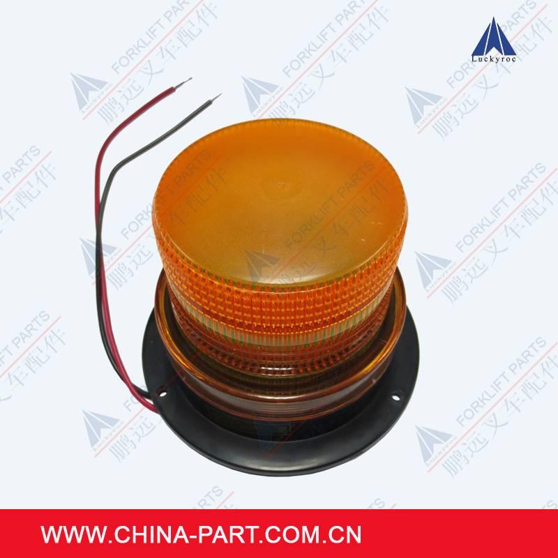 Strobe lamp for forklift