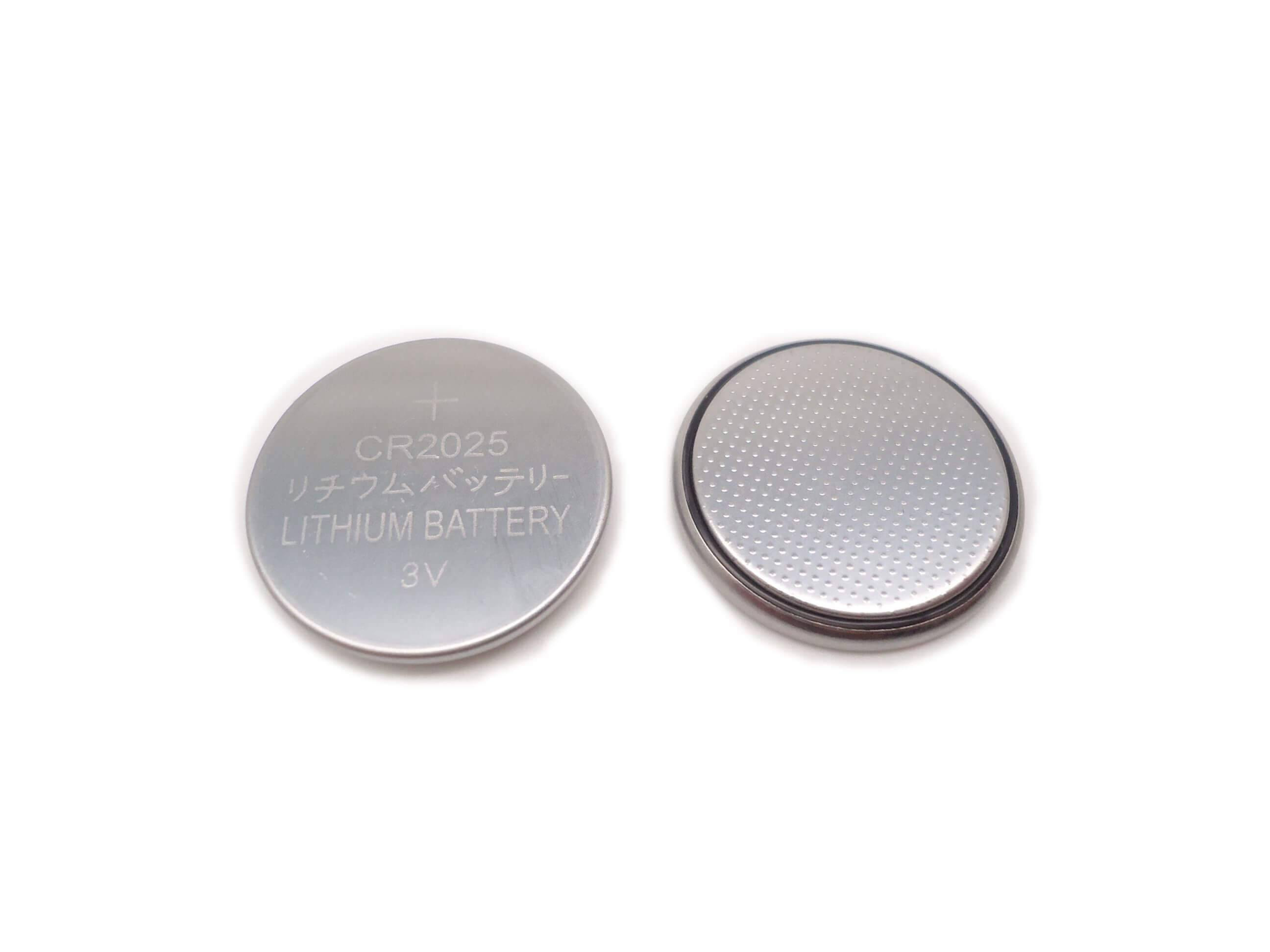 3V CR2025 Lithium Button Cell Battery