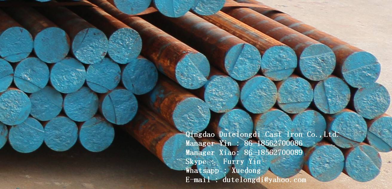 GGG60/GGG70 ductile iron rond/semi-circle square bar  with low price and high quality