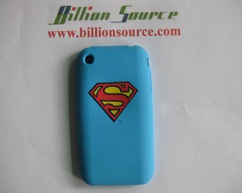 logo printed silicone case