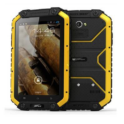 7 inch 4G tough waterproof dustproof shockproof android smart tablet with NFC