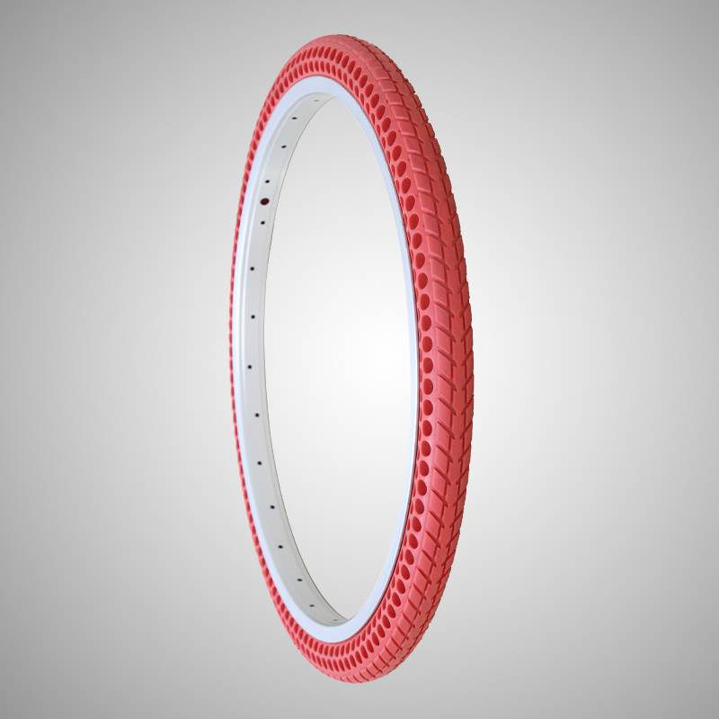 261-3/8 inch solid air free bicycle tire