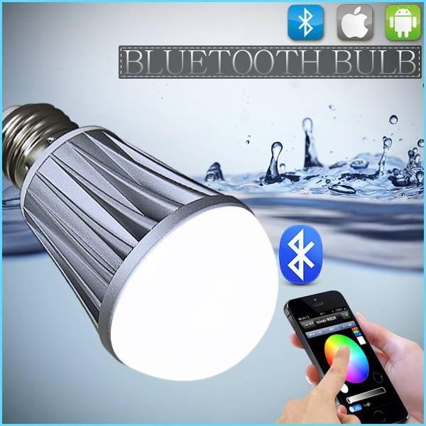 RGB+Warm White IOS Bluetooth led bulp