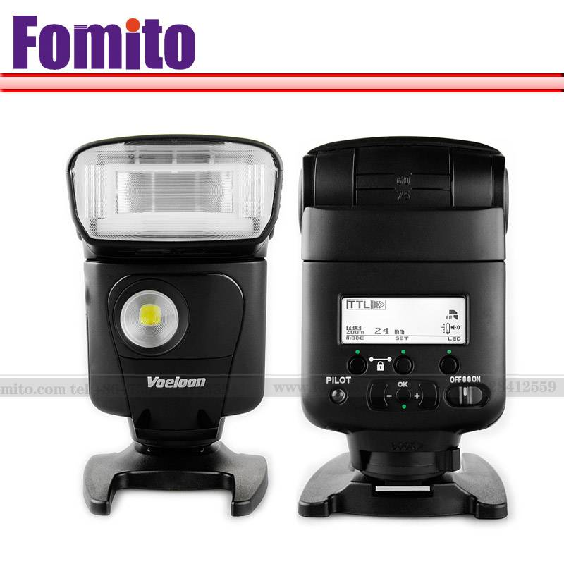 Fomito V331EX look like 320ex For Canon External Camera Flash Lights speedlight for canon EOS 7D