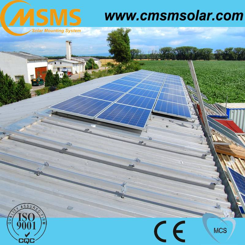 High quality solar roof mounting system solar modules for panel mounting