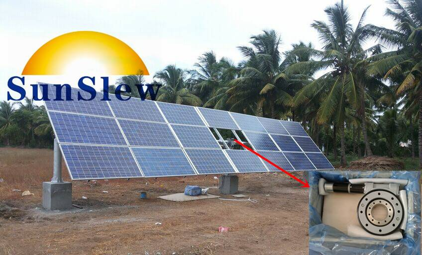 SD7 solar tracker slewing drive