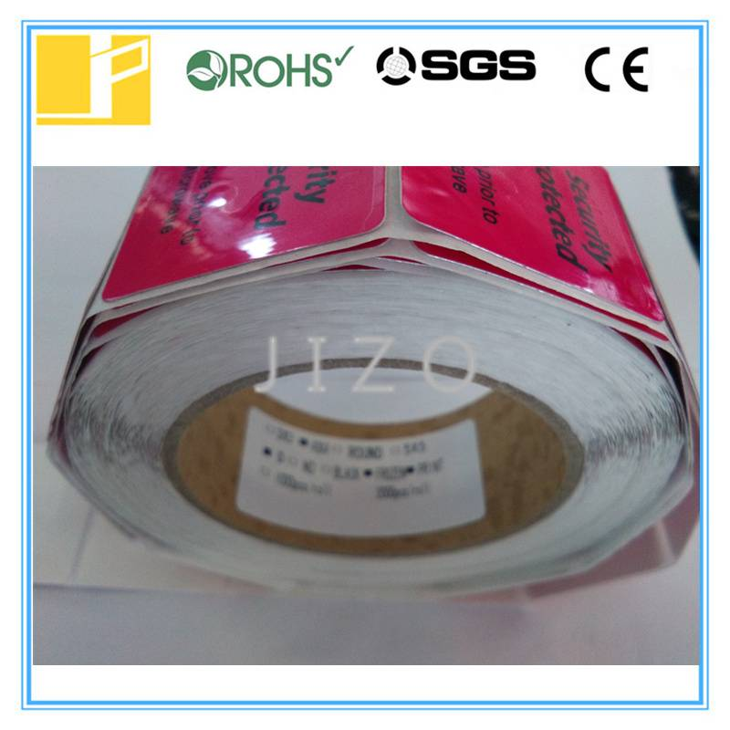 Frozen rf label for cold products
