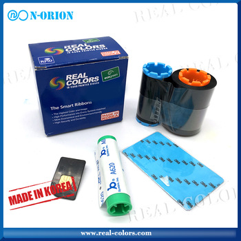 Pcc compatible HITI YMCKFoO_165 color ribbon for hiti id card printer