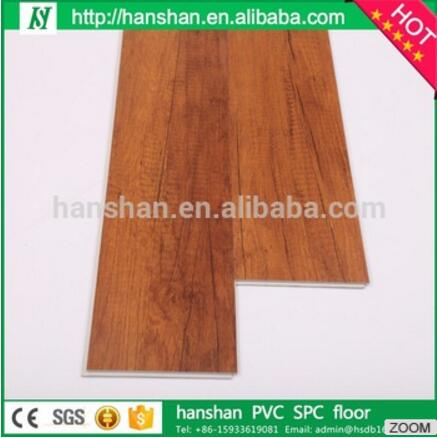 HanShan waterproof plastic flooring