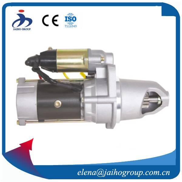Starter Motor for Kumatsu S6D 102 Starter Motor  6008634210  3957592 3970101