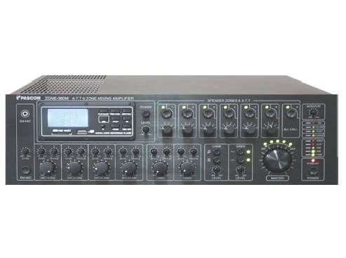 Amplifier PA system ZONE-120M/240M/360M/480M/600M