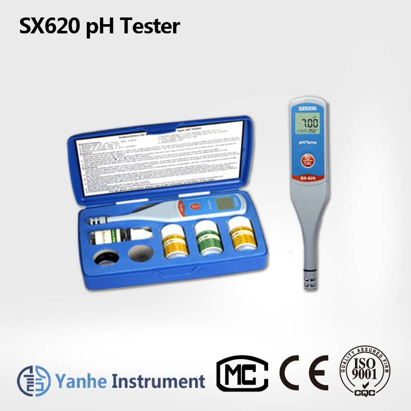 SX620 pocket style pH/Temp Meter