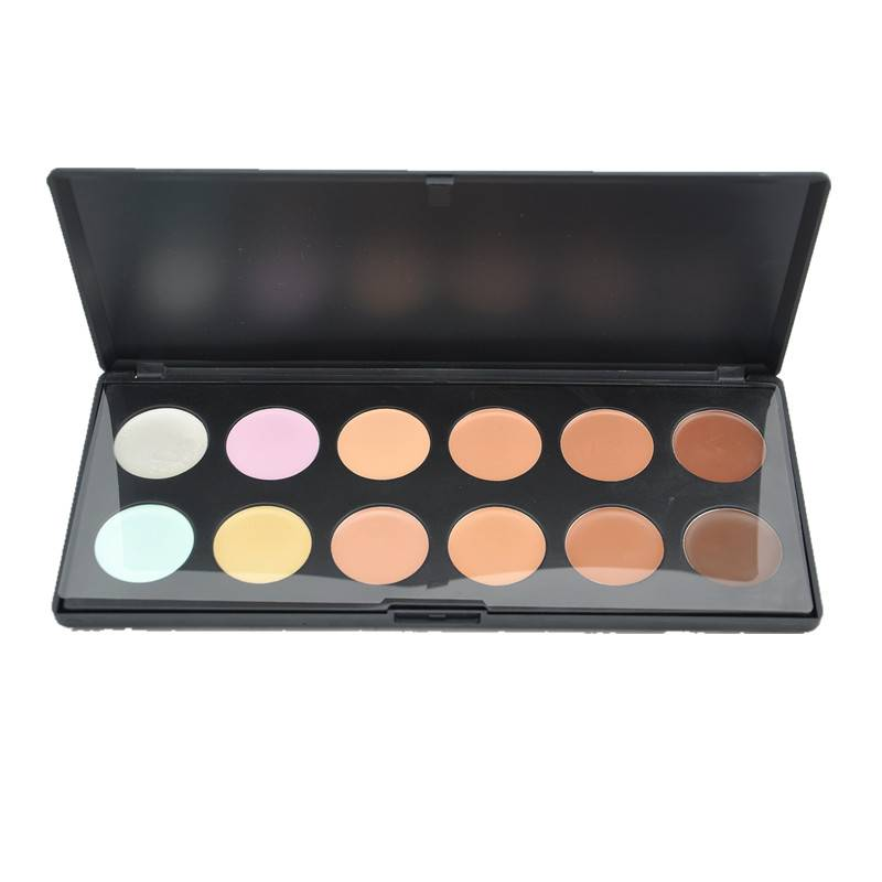 Cosmetic Wholesale!!12 color concealer cosmetic palette