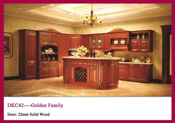 Solid Wood Kitchen cabinet Bar Counter