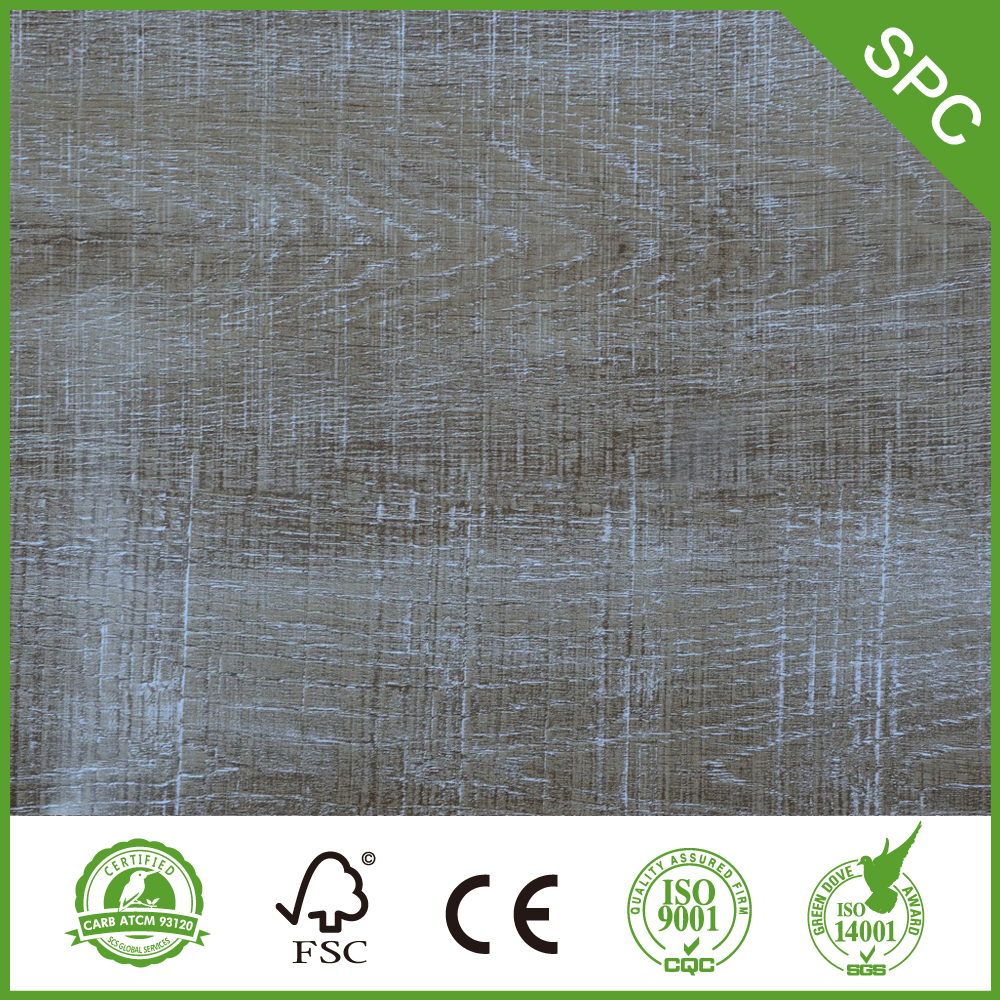 4.0mm With 0.3mm Wear Layer Spc Flooring