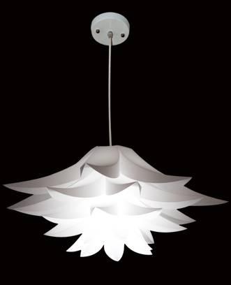 PP Pendant lotus lamp cover Puzzle lamps