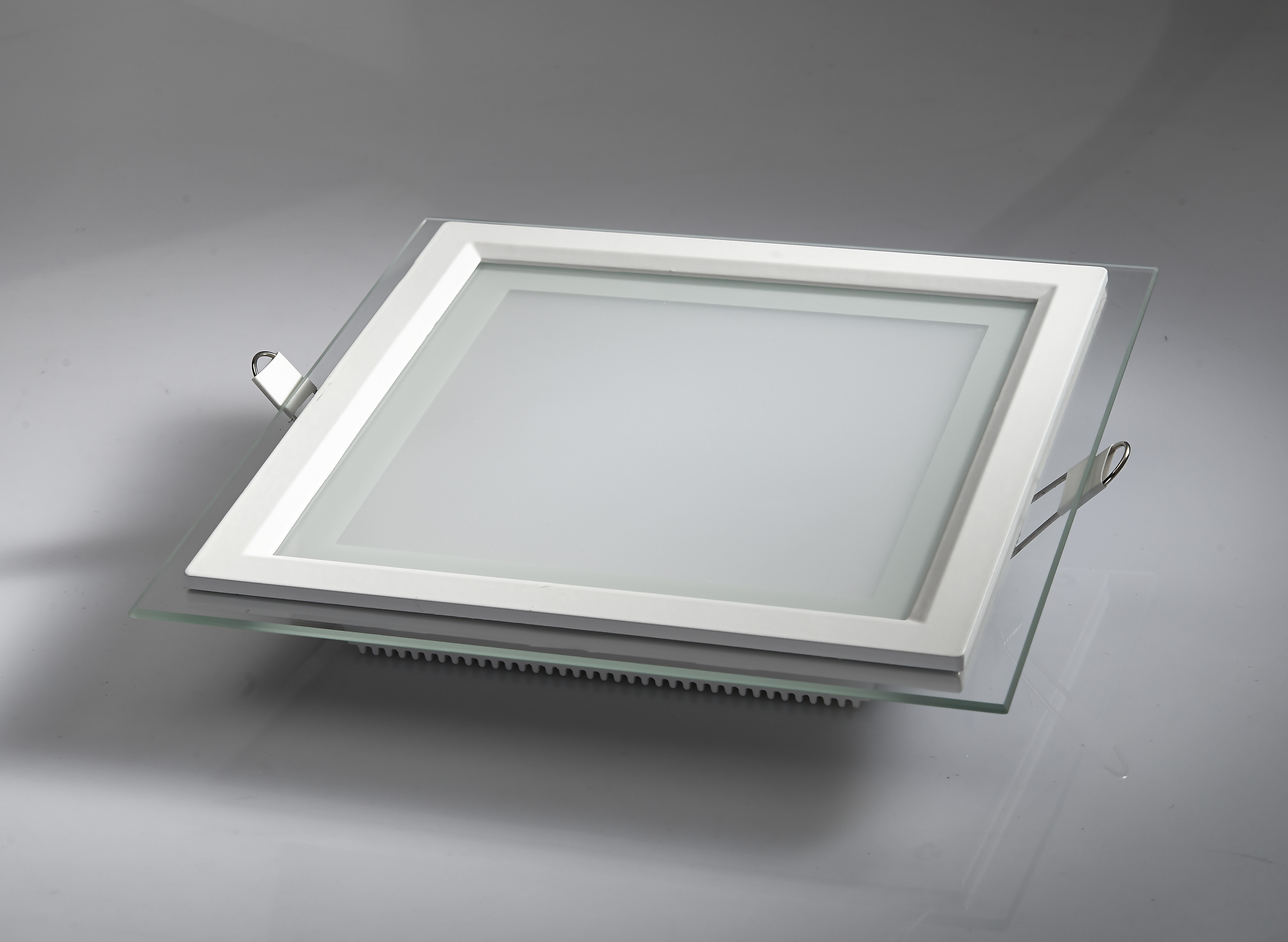 Led panel Light Square glass ceiling light 12W recessed down Lighting