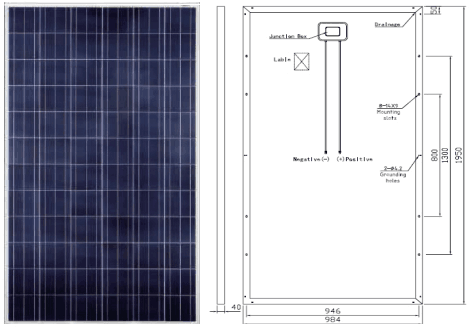 royalstar P72 distributed grid connected photovoltaic system