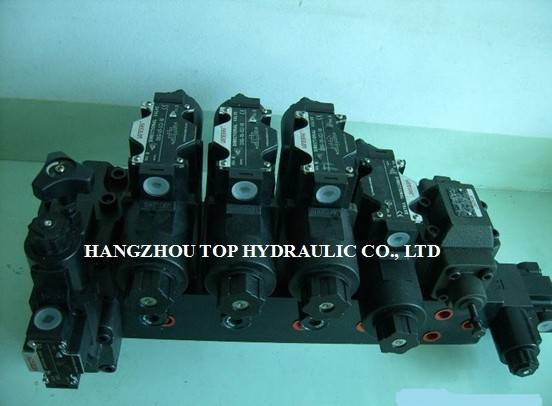 manifold block valve hydraulic valve valve bank valve group check valve